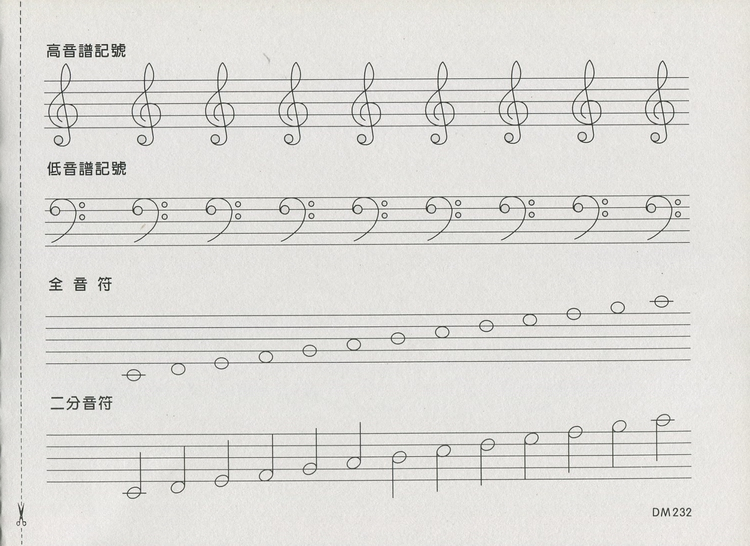 弹doremi的谱子.